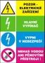 Bezpečnostní tabulky elektro
