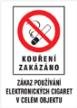 Značení dle protikuřáckého zákona