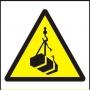 Symbol - nebezpečí úrazu zavěšeným břemenem