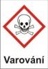 Toxické – varování (GHS06)