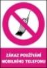 Zákaz používání mobilního telefonu
