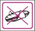 Symbol - zákaz konzumace jídla