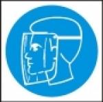 Symbol - obličejový štít