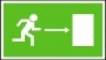 Symbol -únikový východ vpravo