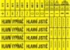 Aršík l značení - 56 symbolů