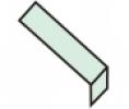 Profil pro označení schodištového stupně