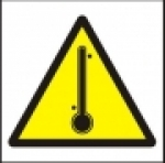Symbol - nebezpečná teplota