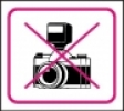 Symbol - zákaz fotografování