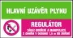 Hlavní uzávěr plynu -  Regulátor