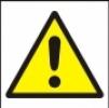 Symbol - obecná výstraha