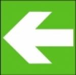 Symbol - směr úniku