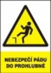 Nebezpečí pádu do prohlubně