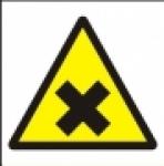 Symbol - nebezpečné zdraví škodlivé nebo dráždivé látky