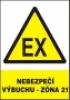 Nebezpečí výbuchu - zóna 21