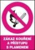 Zákaz kouření a přístupu s plamenem