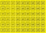 Aršík L1,L2,L3 - 54 znaků