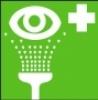 Symbol - výplach očí
