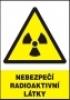 Nebezpečí radioaktivní látky