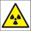 Symbol - nebezpečné neviditelné záření