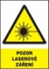Pozor - laserové záření
