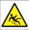 Symbol - nebezpečí uklouznutí