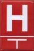 Hydrant (směrovka se vzdál. v m)