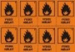 Aršík 8 ks - Vysoce hořlavý