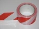 Páska G normová samolepící, červenobílá, šíře 60 mm