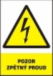 Pozor - zpětný proud  (A6)