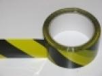 Páska T protisměrná samolepící, žlutočerná, šíře 50 mm