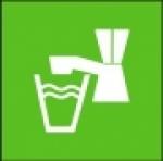 Symbol - pitná voda