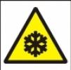 Symbol - nebezpečná nízká teplota