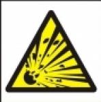 Symbol - nebezpečí výbuchu