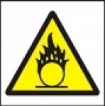 Symbol - nebezpečné oxidující látky