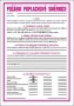 Požární poplachové směrnice (formát A4)
