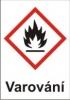 Hořlavé – varování (GHS02)