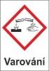 Korozivní – varování (GHS05)
