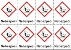 Nebezpečné pro životní prostředí – nebezpečí (GHS09)