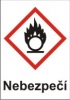 Oxidující – nebezpečí (GHS03)