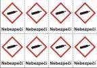 Plyny pod tlakem – nebezpečí (GHS04)