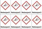 Výbušné – nebezpečí (GHS01)