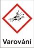 Výbušné – varování (GHS01)